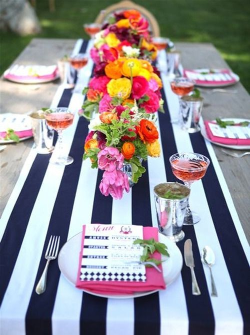 Preppy Table - The Busy Girl Blog