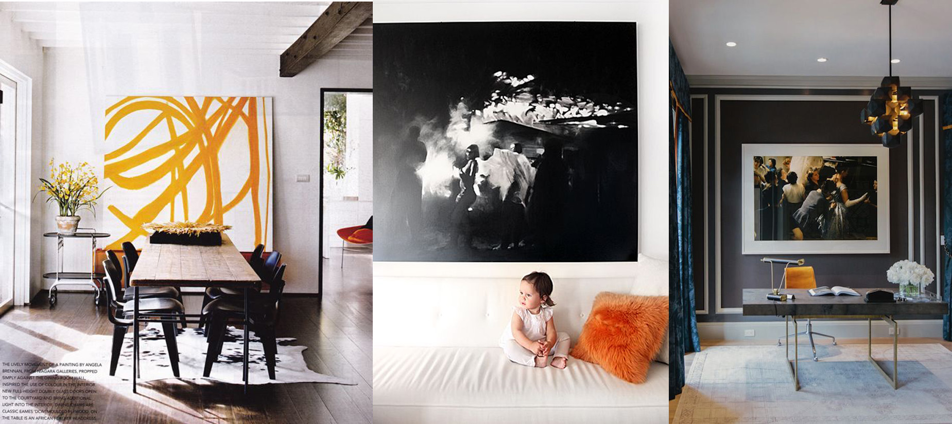 28 large scale art how to hang pictures match art to shape