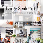 Large Scale Art Header The Busy Girl Blog