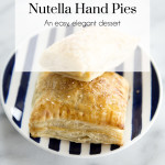 Nutella Hand Pies Recipe, The Busy Girl Blog