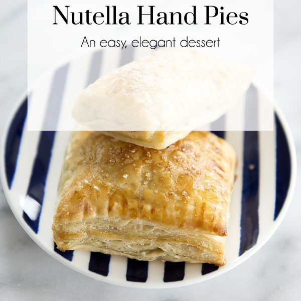 Easy Dessert - Nutella Hand Pies