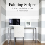 Painting Stripes, The Busy Girl Blog