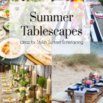 Summer Tablescapes, The Busy Girl Blog