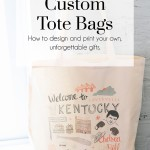 Custom Tote Bags, The Busy Girl Blog