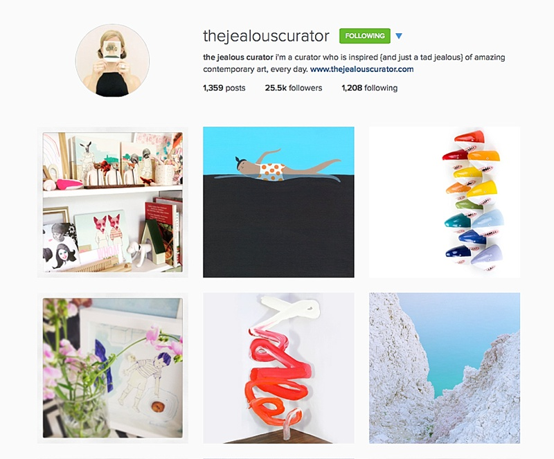 The Jealous Curator, The Busy Girl Blog