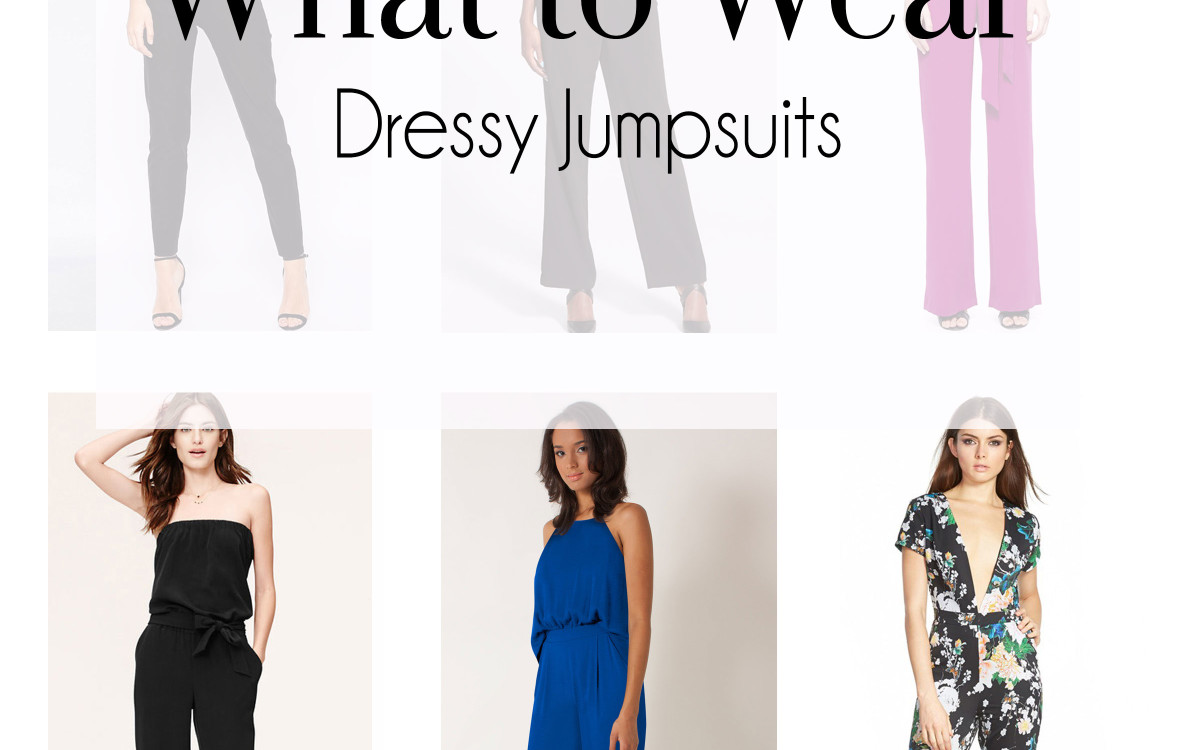 What to Wear - Wedding Guest Jumpsuits