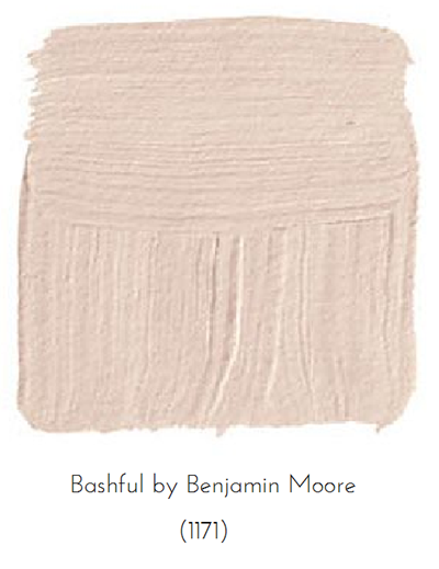 Pink Rooms Done Right, The Busy Girl Blog, Benjamin Moore Blush