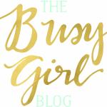 The Busy Girl Blog Logo