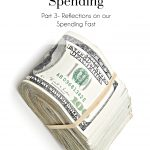 31 Days Without Spending, Spending Fast, Budget, Life, The Busy Girl Blog